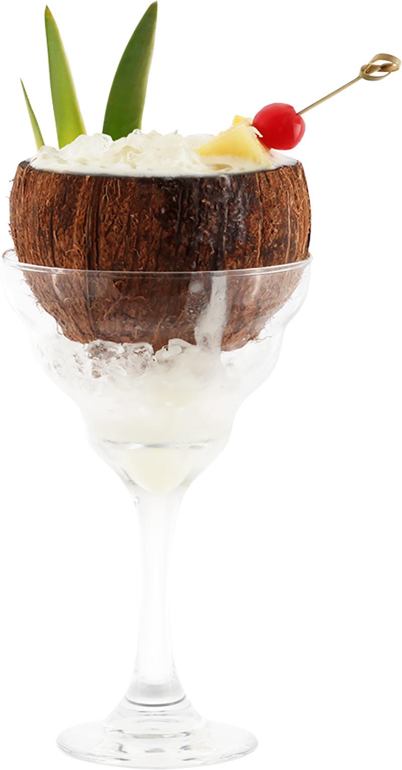 алкогольный коктейль в кокосе рецепт